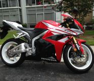 2012 Honda CBR 600RR Bike Red Low Mileage.280055