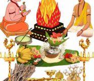 Maha Ganapathi Homam Havan Yagya,Lord...