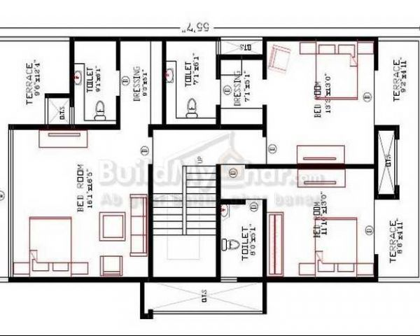 home design plans. Thanks  Submitted 3 BHK HOME DESIGN PLAN CONDO PRESENT BY BUILDMYGHAR House For Sale