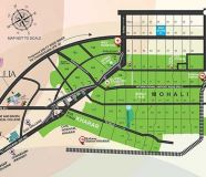 2 BHK flat for sale in GBP Crest,kharar ludhiana road
