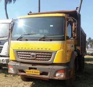 Bharat Benz Used Truck Tipper India Bus - Truck - Commercial ...