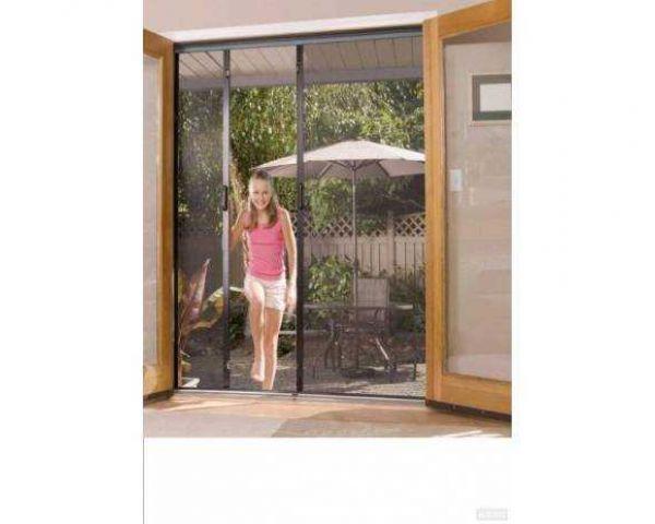 Door Type Aluminium Frame Mosquito Net Saint Gobain Phifer Furniture
