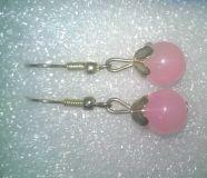 artificial pearl look pink