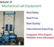 Mechanical Lab Equipments Manufacturer Ambala
