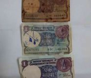 old currency notes