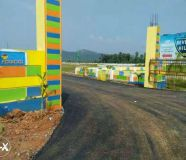 main road beside vuda plot available at sainik...