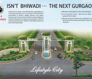 Land for sale in lifestyle city at Alwar Bypass Road...