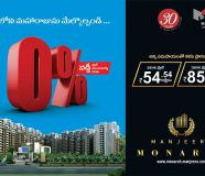 2 BHK flats for sale in vijayawada 10 Kms from benz...