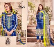 elegant radhika almas cotton embroidery suits
