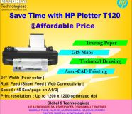 Save Time with HP Plotter T120 atAffordable Price