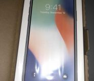 Apple iPhone X - 256GB - Silver Unlocked NEW Still...