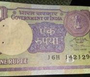 One Rupee Old Note Original