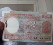 Two rupees notes
