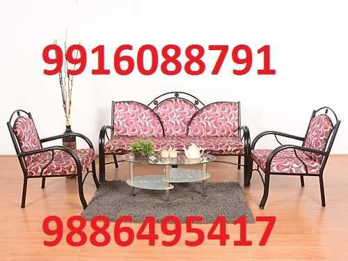 Iron Sofa Set Manufactures 3+1+1 Only At 5500 Call Furniture ...