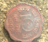 bronze 10 paisa 1961 old rare coin for sale