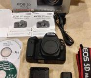 New DSLR Canon 5D Mark II