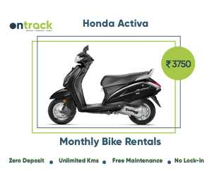 Activa On Monthly Rent Bikes Scooters In Bangalore