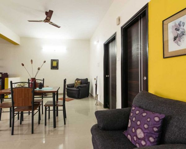 Sensational 1Bhk Fully Furnished Bachelor Co Living Rooms Flats For Download Free Architecture Designs Embacsunscenecom
