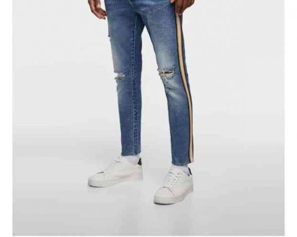 FACTORY EXCESS ZARA MAN BRANDED HEAVY LYCRA JEANS