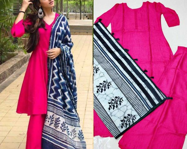 7fbe5e61152 ₹799 Women                                s new party wear kurti plazo by  Sejal Piyush Raval
