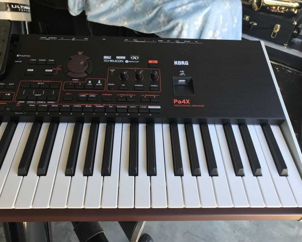 Korg PA4X 76 Key Professional Arranger Keyboard