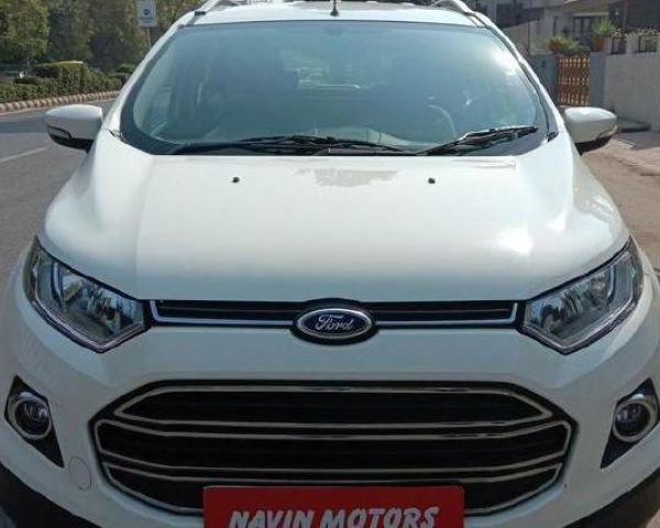 2016 Ford Ecosport Titanium 1 5l Tdci For Sale In Ahmedabad Cars