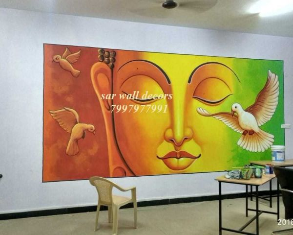 School Wall Painting Ideas In Hyderabad