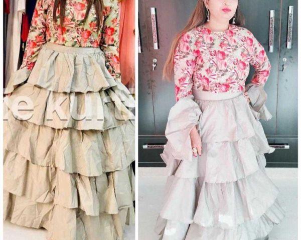 Women S New Fancy Deisnger Kurti Stylish In Partywear Clothing Surat 158355828