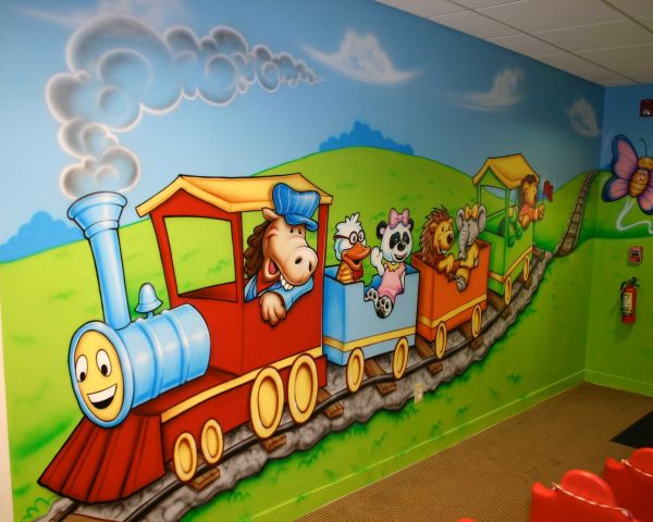 Wall Painting For Pre Primary School In Surat