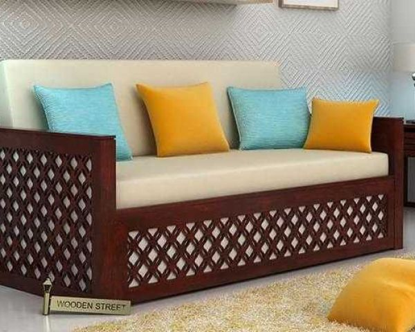 Astounding Browse Beautiful Wooden Sofa Set Design At Wooden Street Download Free Architecture Designs Jebrpmadebymaigaardcom
