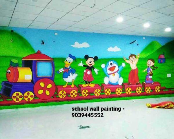 Nursery School Wall Painting Artist In Hyderabad Arts Antiques