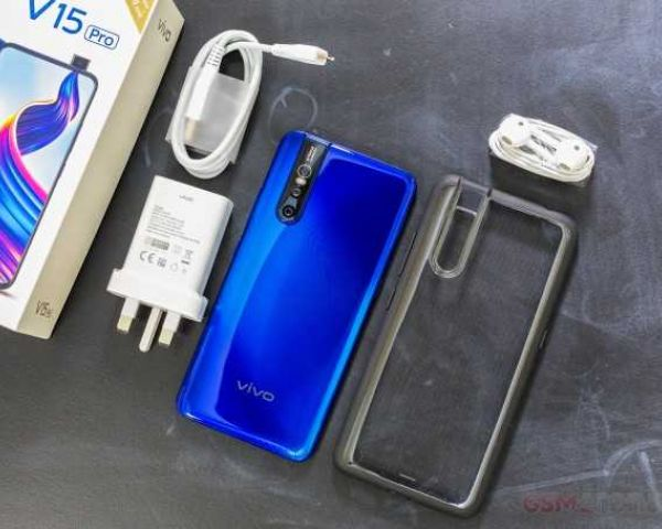 Vivo V15 Pro Blue 128gb 6gb Ram 6 39 48 8 5mp Rear Camera Googleplay Phone
