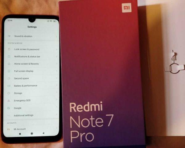 Brand New Redmi Note 7pro 6GB RAM 128GB Storage