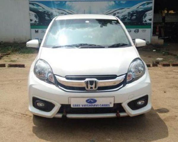2016 Honda Amaze 1 5 VX I-DTEC For Sale In Coimbatore