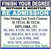 Complete Your Breaking Education From Ugc Aicte Dec Approved University