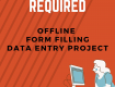 SIMPLE FORM FILLING PROJECT