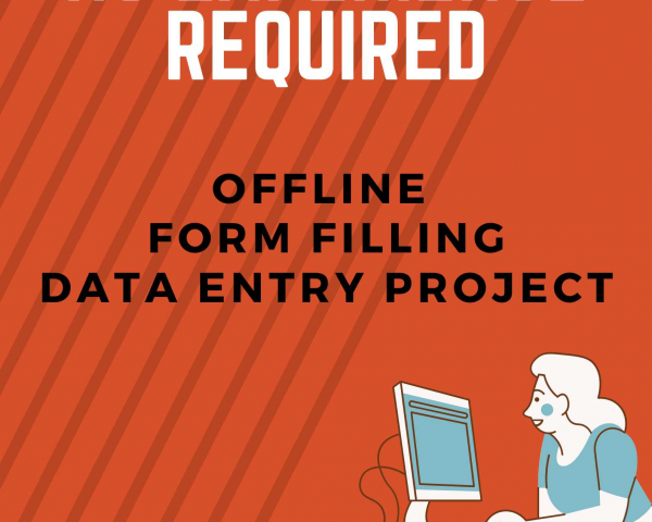 Easy Offline Form Filling Projects