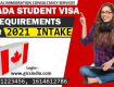 Canada Student Visa Requirements for 2021 Fall Intake