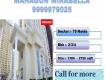 3 bhk 1730 sqft in mahagun mirabella sector 79 noida
