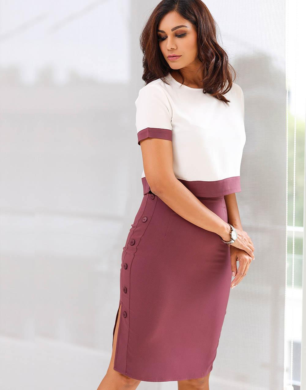 Work Town WW Skirt