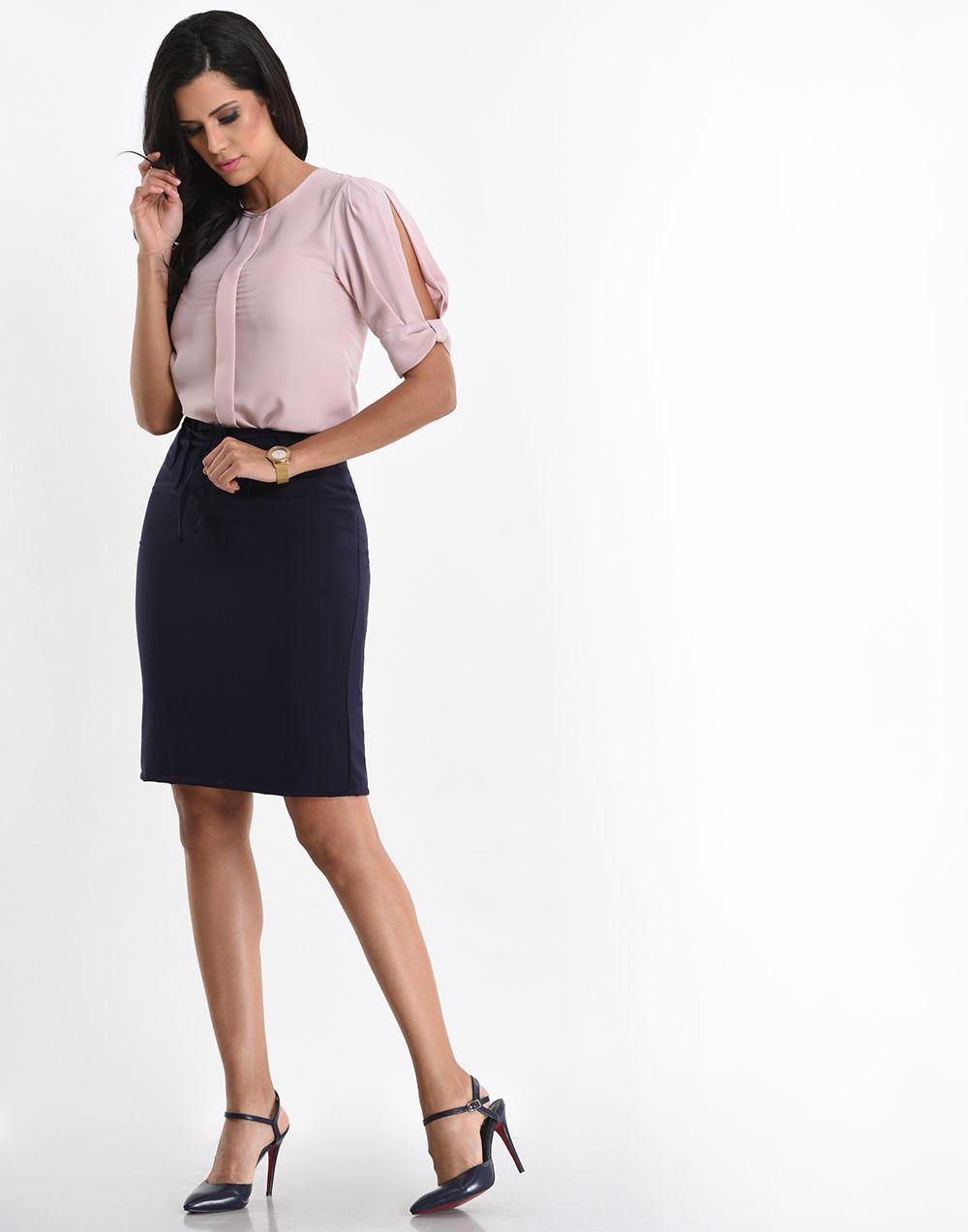 Modern Femme High Waist Skirt