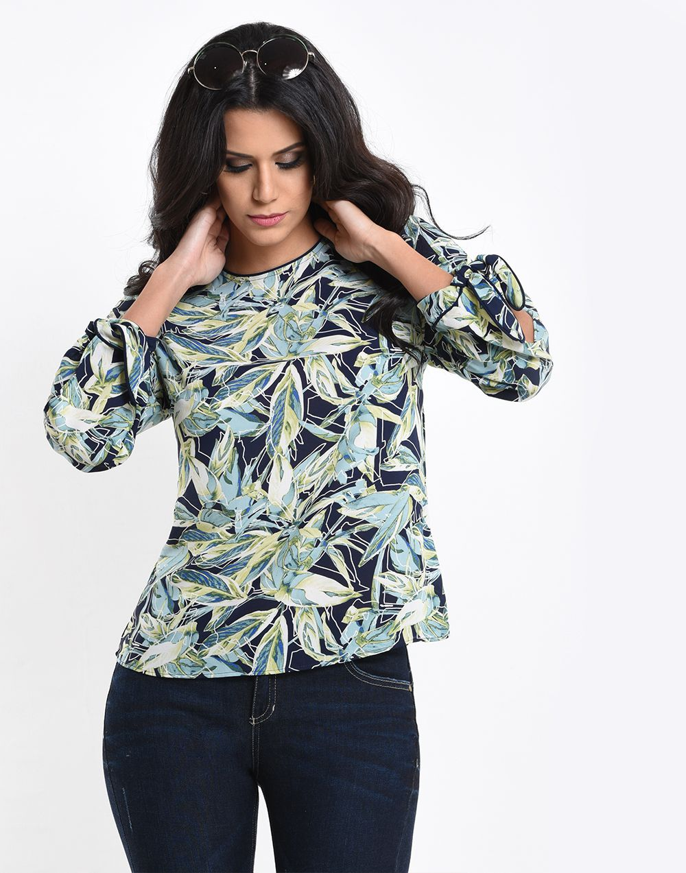 Botanical Summer Top