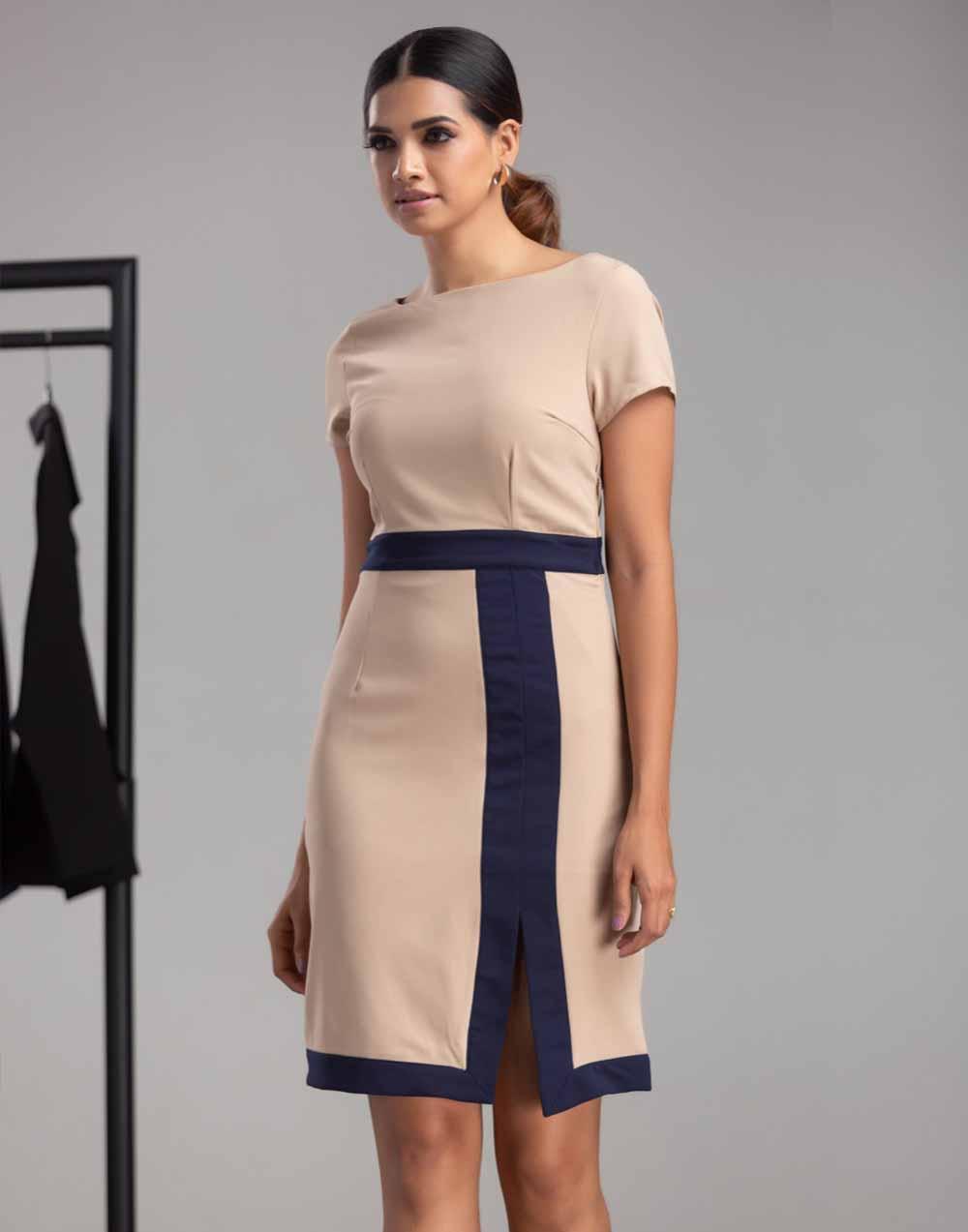 Rolling Record Workwear Dress