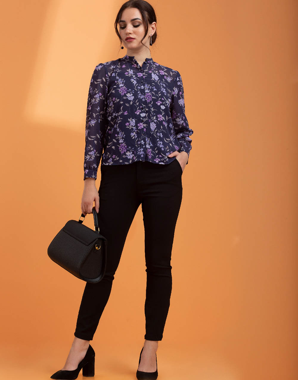 Adelle Printed WW Top