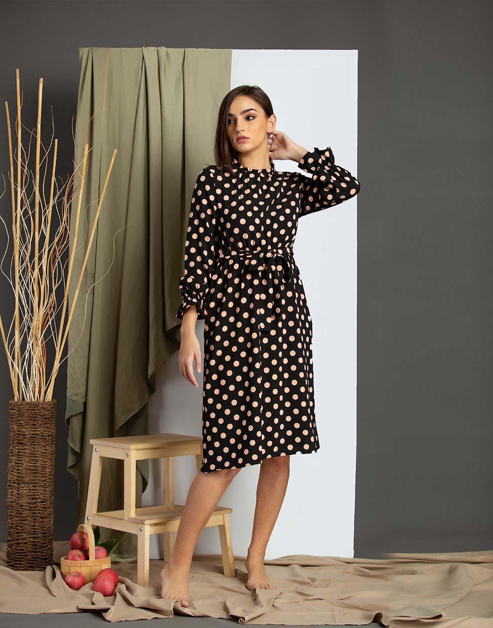 Always Basic Midi Dress _