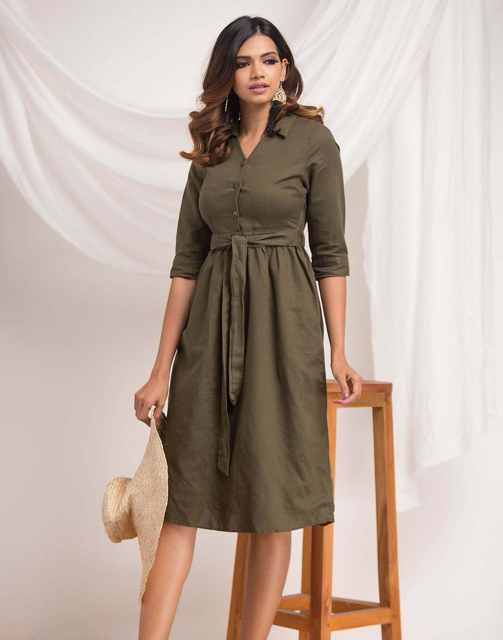 Midi Sketer Dress