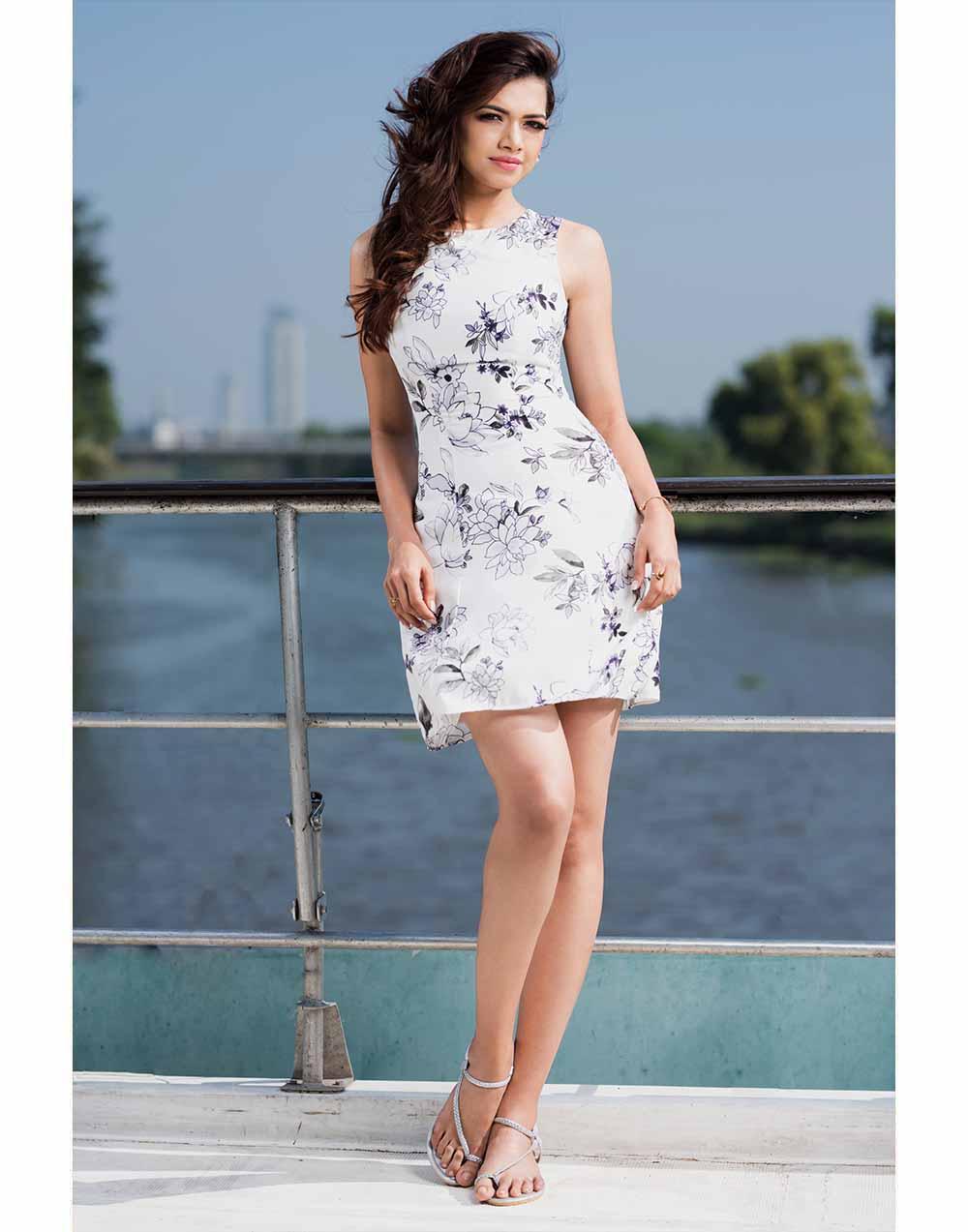 Floral Princes Line Dress
