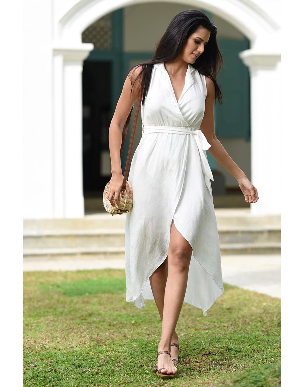 Lapel Collar Dress