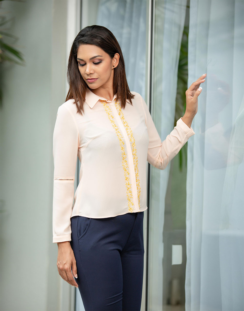 Embroidery Femme WW Top