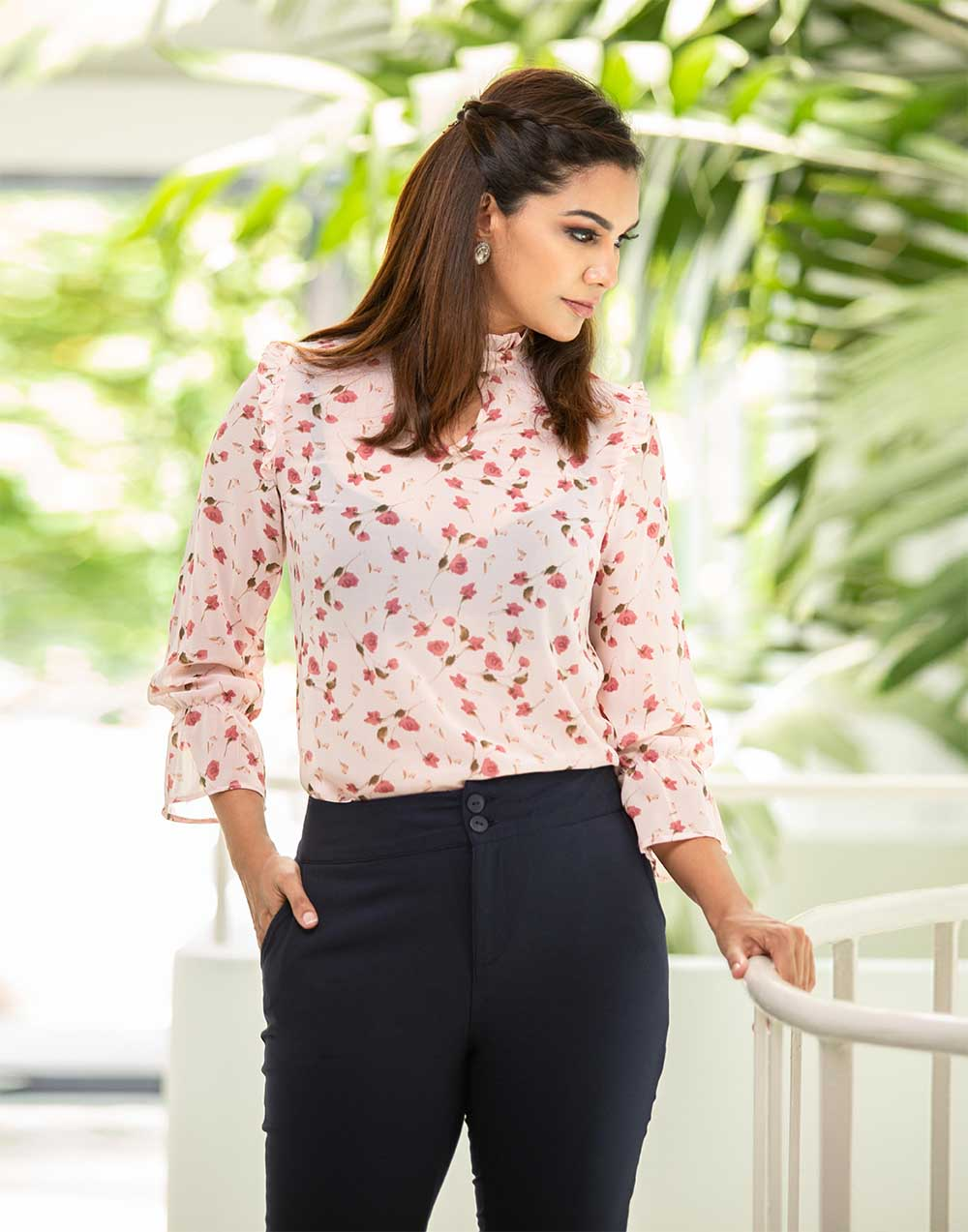 Floral On Way WW Top